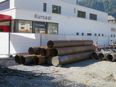 Posizionamento filtri tubi Paparelli Svizzera