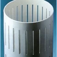 filtro per pozzi d'acqua con cave passanti