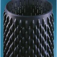 filtro punzonato ponte grosso spessore per filtro pozzi